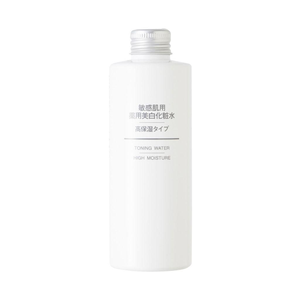 敏感肌用薬用美白化粧水・高保湿タイプ 無印良品