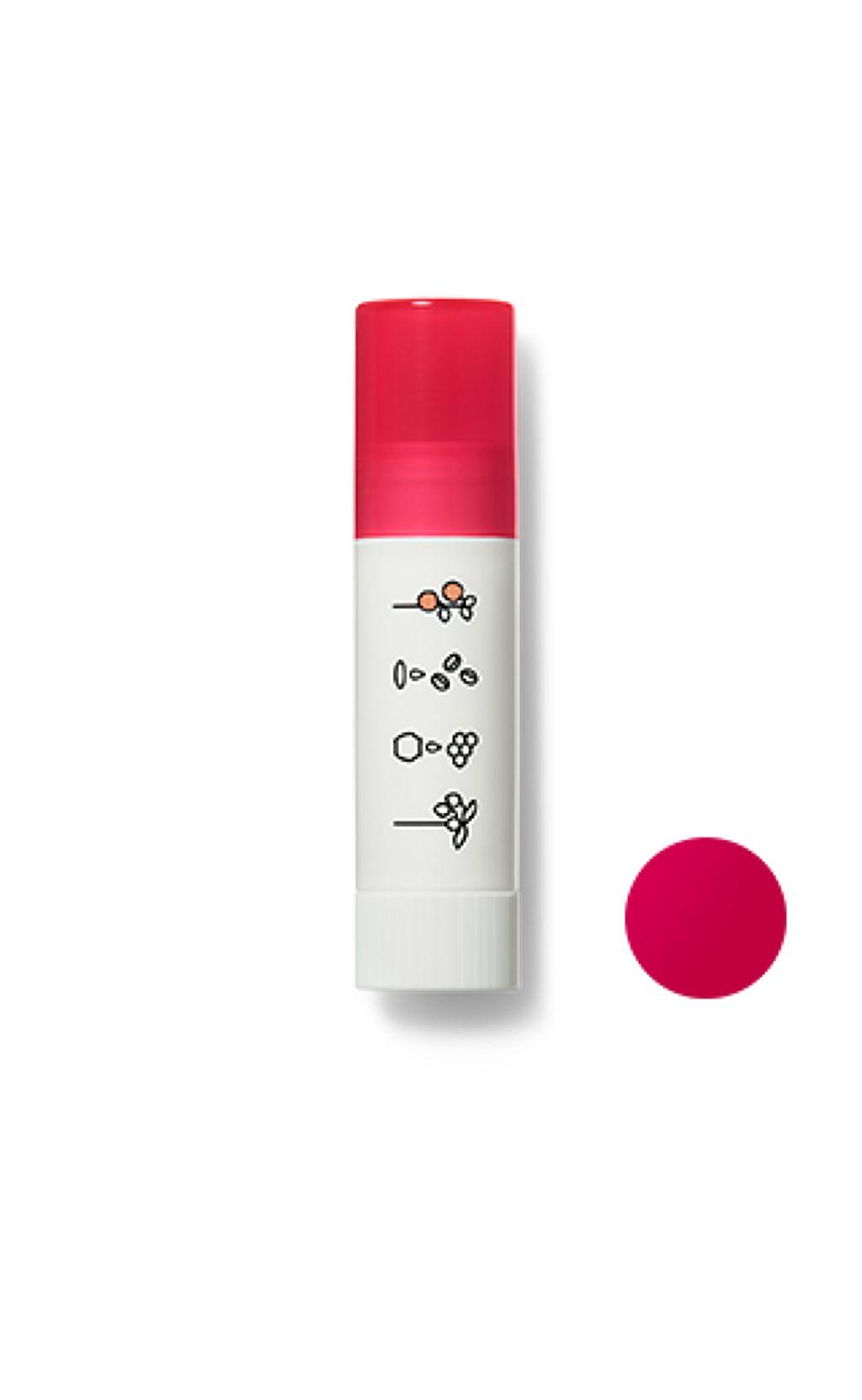 ほんのり色づくリップクリームピュアレッド(アップルの香り)
