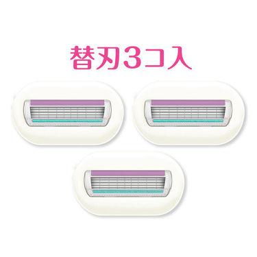 シック Schick イントゥイション 替刃 女性用 カミソリ 敏感肌用(3コ入) シック
