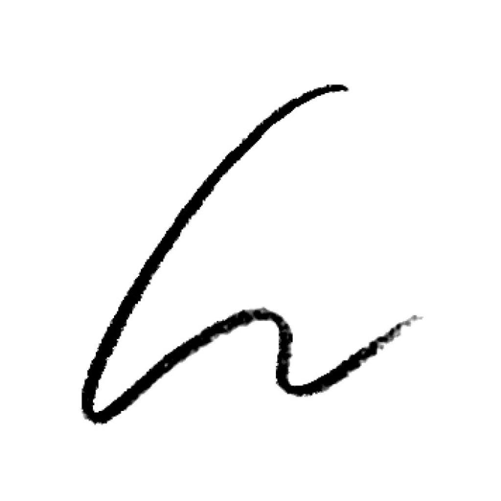 UR GLAM SLIM SKETCH EYEBROW PENCIL(スリムスケッチアイブロウペンシル) ブラック