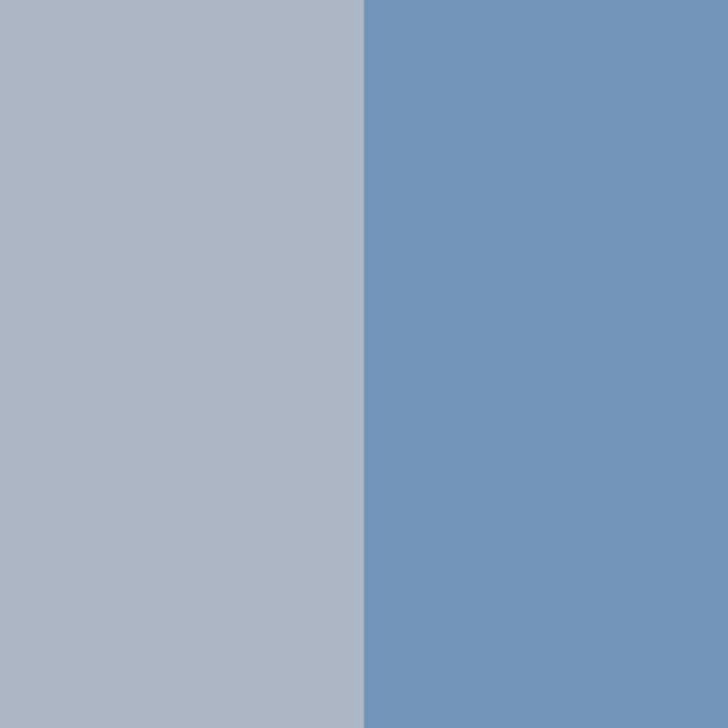 ツーカラー アイシャドウ03:きりっと涼しげなすっきりブルー系