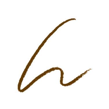UR GLAM SLIM SKETCH EYEBROW PENCIL(スリムスケッチアイブロウペンシル) ナチュラルブラウン
