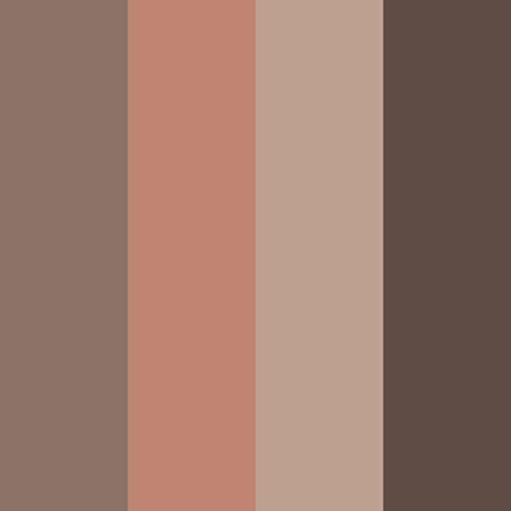 アイカラー(4色タイプ)(旧) ブラウン×オレンジ