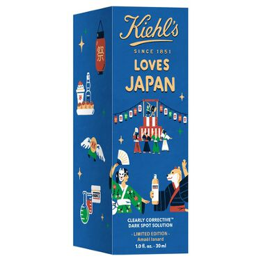 DS クリアリーホワイト ブライトニング エッセンス Kiehl's LOVES JAPAN 限定エディション 30ml
