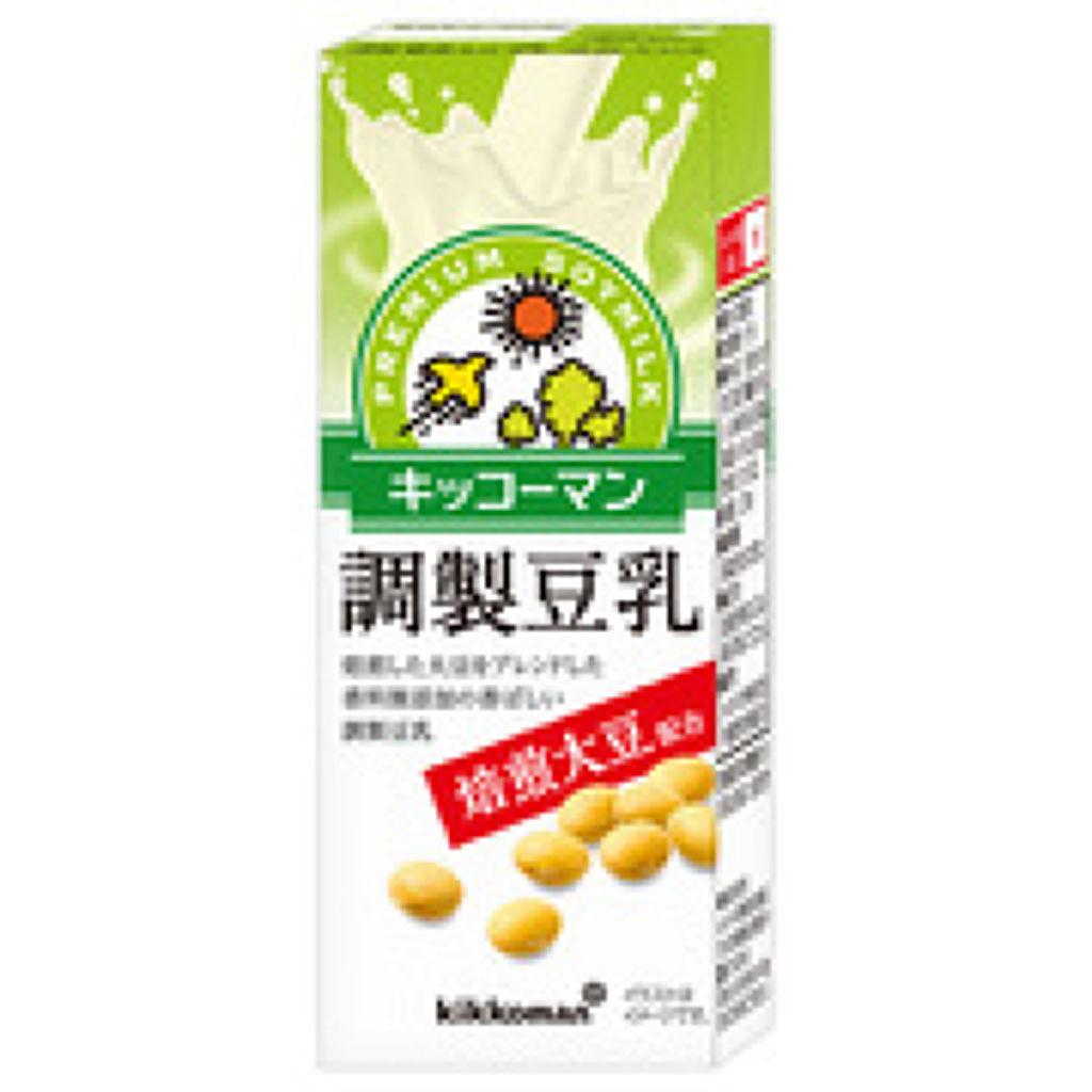 調整豆乳 焙煎大豆 調製豆乳200ml