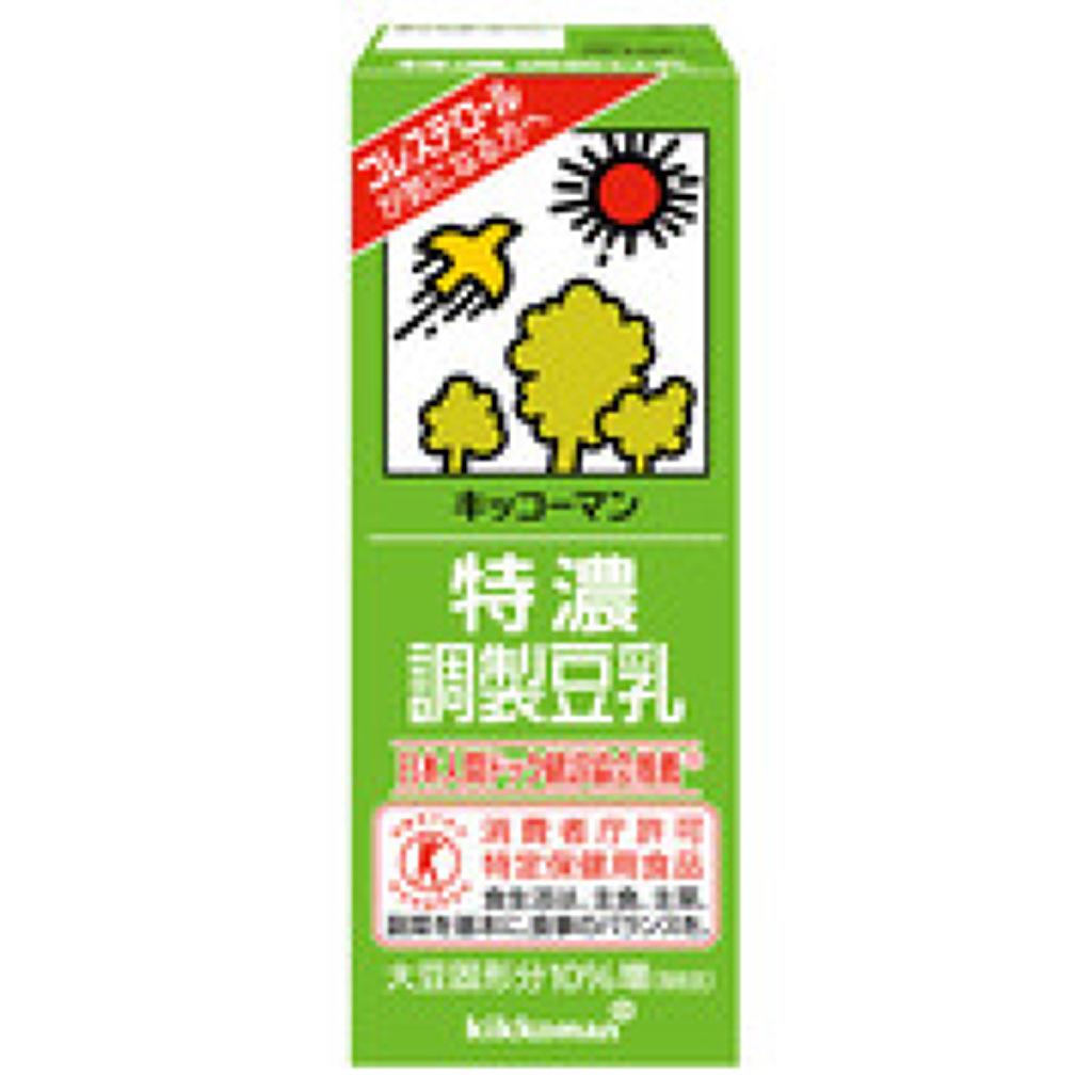 調整豆乳 特濃調整豆乳200ml(トクホ)