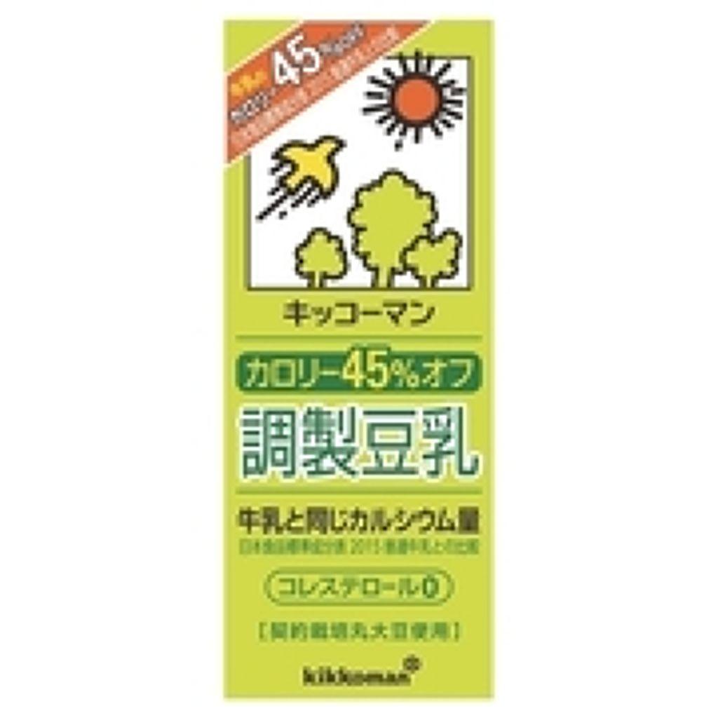 調整豆乳 カロリー45%オフ調製豆乳 200ml