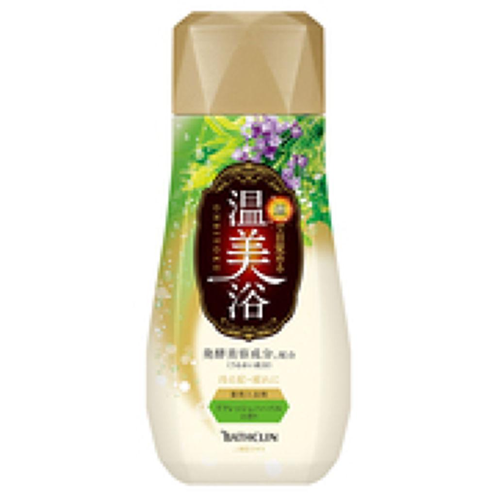 温美浴 リフレッシュハーバルの香り 480g(ボトル)