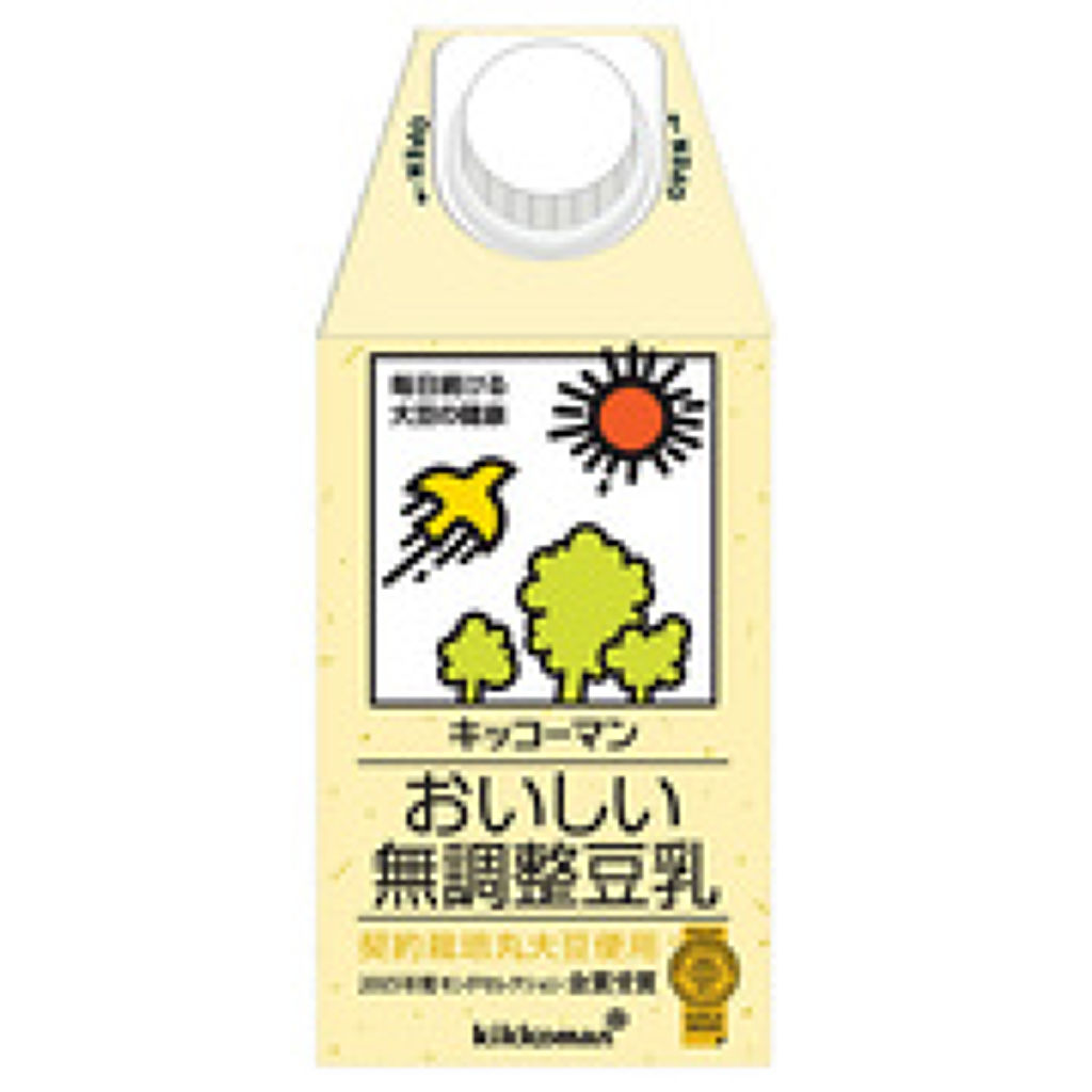 無調整豆乳 おいしい無調整豆乳500ml