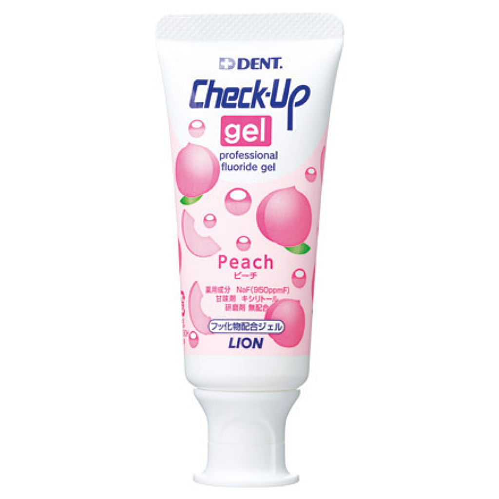 歯科用 DENT Check-up gel ピーチ