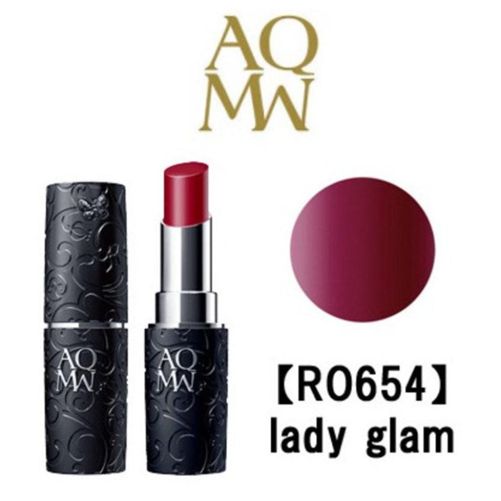 AQ MW ルージュ グロウ RO654 lady glam