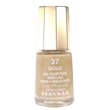 ネイルカラー 37 ゴールド