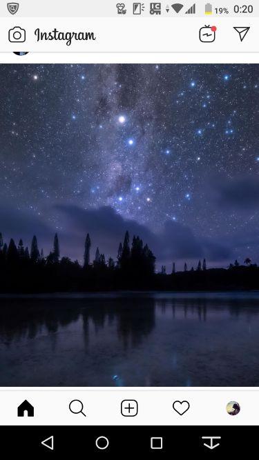幻想的な音楽(と星空)